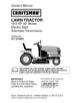 Craftsman 18.5 HP 917.273823 Owner