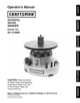 Craftsman 351.215 User