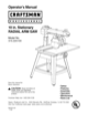 Craftsman Professional 3 hp 10 Radial Arm Saw with LaserTrac  22010 Owner