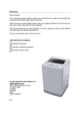 DEFY top loader automatic washing machine WTL 13019W - 3