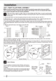 Frigidaire FFRA0811Q1 Installation Instructions - 2