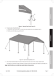 Harbor Freight Tools 10 Ft. x 20 Ft. Portable Car Canopy Product manual - 7
