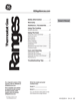 Hotpoint RGB525DEHWW Use & Care Manual - 1