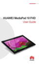 Huawei MediaPad 10 FHD User Guide - 1