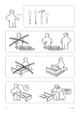 IKEA ANEBODA BED FRAME FULL WHT Assembly Instruction - 2