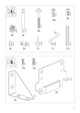 IKEA ANEBODA BED FRAME FULL WHT Assembly Instruction - 3
