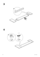 IKEA ANEBODA BED FRAME FULL WHT Assembly Instruction - 6