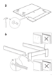 IKEA ANEBODA BED FRAME FULL WHT Assembly Instruction - 7