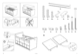 IKEA BANGSUND BED TWIN Assembly Instruction - 3