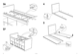 IKEA BANGSUND BED TWIN Assembly Instruction - 5