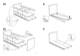 IKEA BANGSUND BED TWIN Assembly Instruction - 7