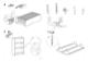 "IKEA BILLY BOOKCASE 41 3/4"" TALL Assembly Instruction - 3"