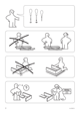 IKEA DALSELV BED FRAME FULL/DOUBLE Assembly Instruction - 2