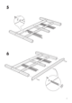 IKEA DALSELV BED FRAME FULL/DOUBLE Assembly Instruction - 7