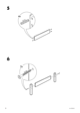 IKEA DALSELV BED FRAME TWIN Assembly Instruction - 6