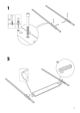 IKEA EDLAND 4 POSTER BED FULL DOUBLE Assembly Instruction - 5