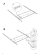 IKEA EDLAND 4 POSTER BED FULL DOUBLE Assembly Instruction - 8