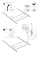IKEA EDLAND 4 POSTER BED FULL DOUBLE Assembly Instruction - 9