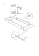IKEA EINA BED FRAME TWIN Assembly Instruction - 4