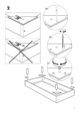 IKEA EINA BED FRAME TWIN Assembly Instruction - 5