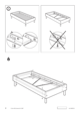 IKEA EINA BED FRAME TWIN Assembly Instruction - 8