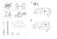 IKEA EKESKOG SOFA BED FRAME Assembly Instruction - 2