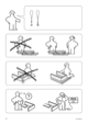 IKEA ENGAN BED FRAME FULL DOUBLE Assembly Instruction - 2