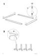 IKEA ENGAN BED FRAME QUEEN Assembly Instruction - 4