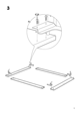IKEA ENGAN BED FRAME QUEEN Assembly Instruction - 5