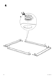 IKEA ENGAN BED FRAME QUEEN Assembly Instruction - 6