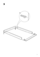 IKEA ENGAN BED FRAME QUEEN Assembly Instruction - 7