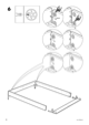 IKEA ENGAN BED FRAME QUEEN Assembly Instruction - 8