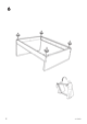 IKEA FLORO BED FRAME FULL, QUEEN & KING Assembly Instruction - 8