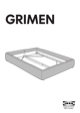IKEA GRIMEN BED FRAME FULL & QUEEN Assembly Instruction - 1