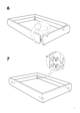 IKEA GRIMEN BED FRAME FULL & QUEEN Assembly Instruction - 7