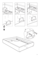 IKEA GRIMEN BED FRAME FULL & QUEEN Assembly Instruction - 9