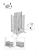 "IKEA GULLIVER CRIB 27 1/2X52"" Assembly Instruction - 5"