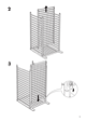 "IKEA GULLIVER CRIB 27 1/2X52"" Assembly Instruction - 9"