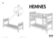 IKEA HEMNES BUNK BEDFRAME TWIN Assembly Instruction - 1
