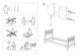 IKEA HEMNES BUNK BEDFRAME TWIN Assembly Instruction - 2