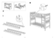 IKEA HEMNES BUNK BEDFRAME TWIN Assembly Instruction - 4