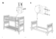 IKEA HEMNES BUNK BEDFRAME TWIN Assembly Instruction - 5