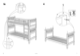 IKEA HEMNES BUNK BEDFRAME TWIN Assembly Instruction - 7