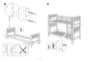 IKEA HEMNES BUNK BEDFRAME TWIN Assembly Instruction - 8