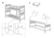 IKEA HEMNES BUNK BEDFRAME TWIN Assembly Instruction - 9