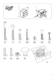 "IKEA HEMNES CHEST/6 DRAWERS 43X52"" Assembly Instruction - 3"