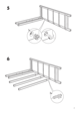 "IKEA HEMNES CHEST/6 DRAWERS 43X52"" Assembly Instruction - 7"
