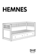 IKEA HEMNES DAYBED W/ 2 DRAWERS Assembly Instruction - 1
