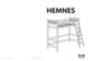 IKEA HEMNES LOFT BEDFRAME TWIN Assembly Instruction - 1
