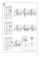 IKEA HEMNES WARDROBE W/ 2 DRAWERS Assembly Instruction - 35